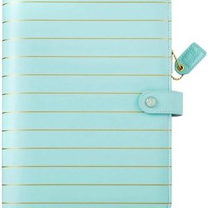 Webster's Pages A5 Planner Blue Gold Stripe New
